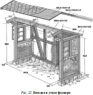 строим сами фахверк
