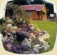 альпийская горка в саду сделанная своими руками