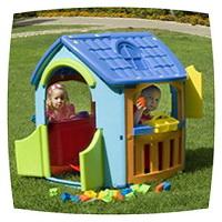 детский игровой домик для дачных игр