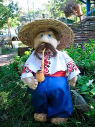 Как сделать садовую куклу — пугало