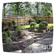 зонирование сада усиливает его привлекательность